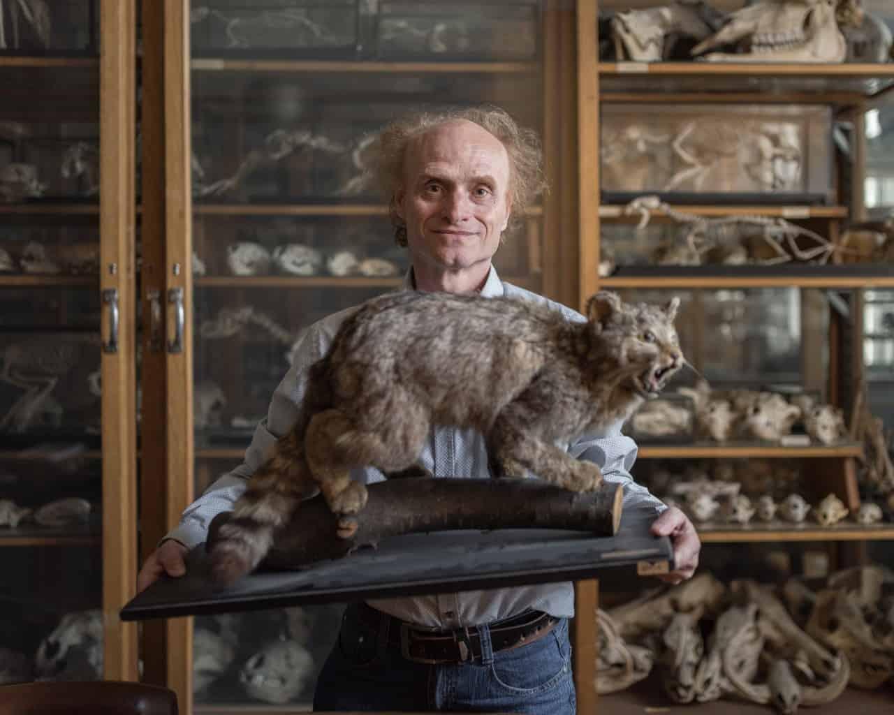 Evolutionary Biologist Jaroslav Flegr For Struncmag Documented By